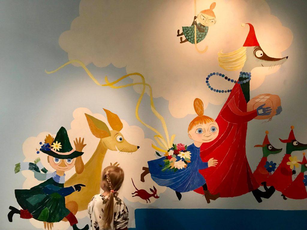 Tove Janssonin muumeja ja muuta Janssonin taidetta voi ihailla HAM Helsingin ensimmäisessä kerroksessa.