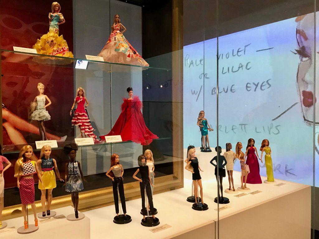 Barbie -The Icon -erikoisnäyttely Kansallismuseossa.