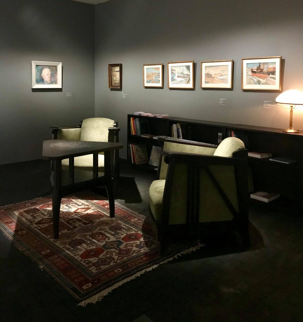 Sigurd Frosteruksen kokoelmanäyttelyssä on esillä klassista taidetta.